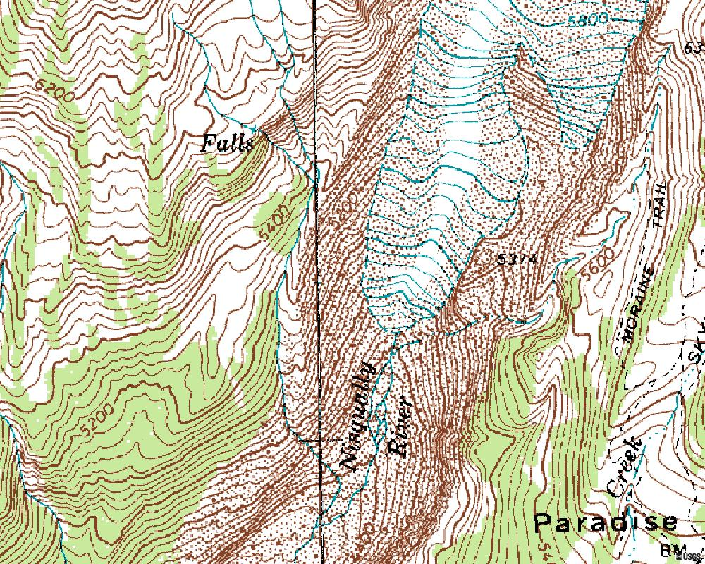 Red River Gorge Topographic Map.Lab Streams